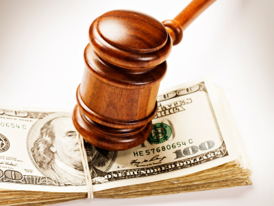workers compensation fines and gavel