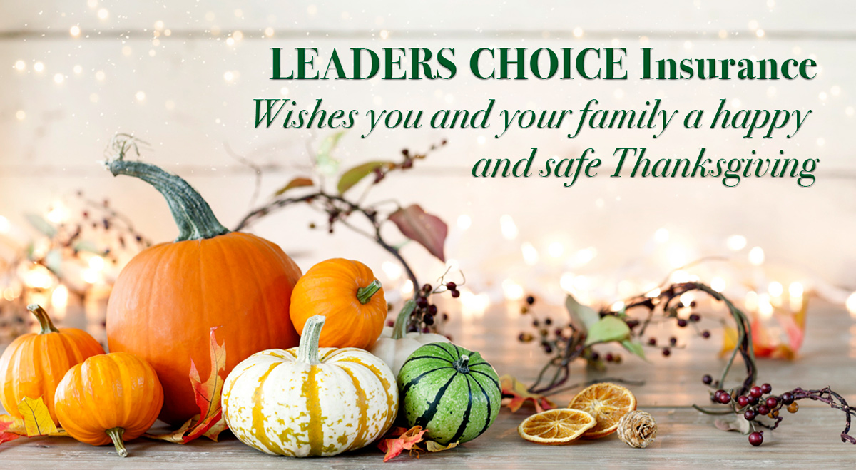 Leaders Choice Happy Thanksgiving